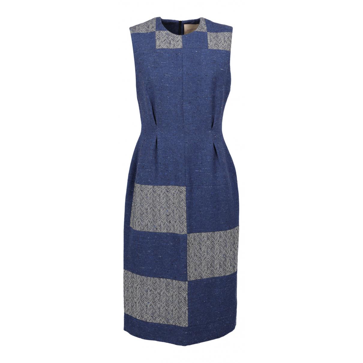 Roksanda \N Blue Silk dress for Women One Size FR