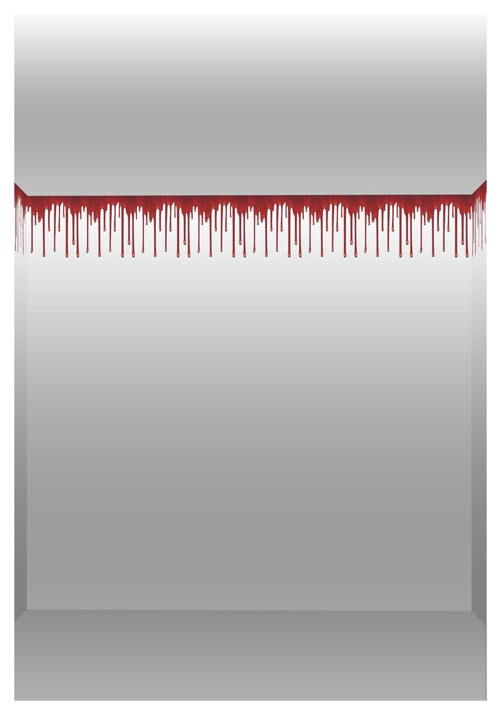 Dripping Blood Border Roll