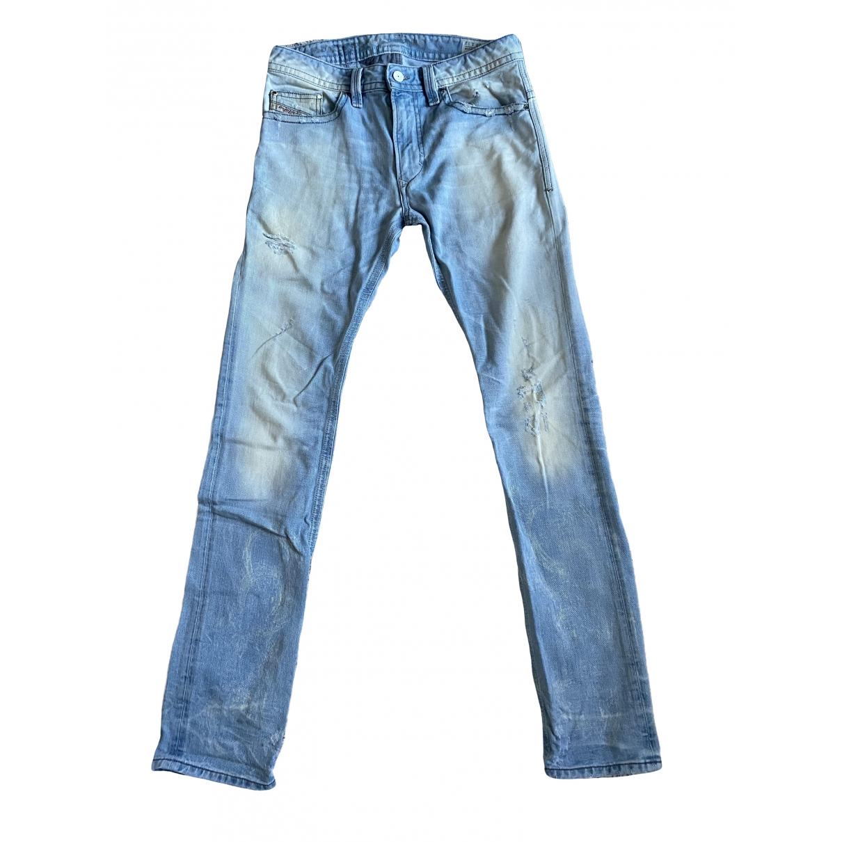 Diesel \N Blue Cotton Jeans for Men 28 US