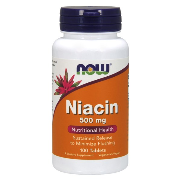 Niacin 100 Tabs by Now Foods