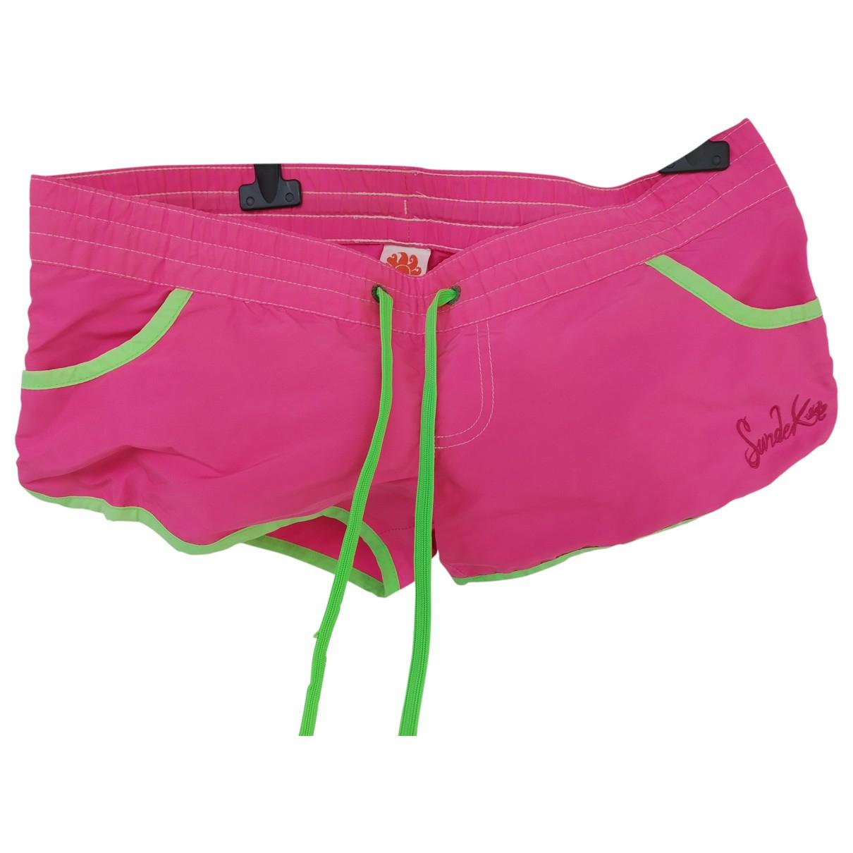 Sundek \N Pink Shorts for Women M International