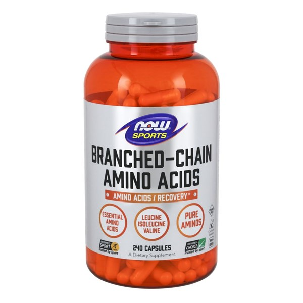 Branched Chain Amino Acids 240 Caps by Now Foods