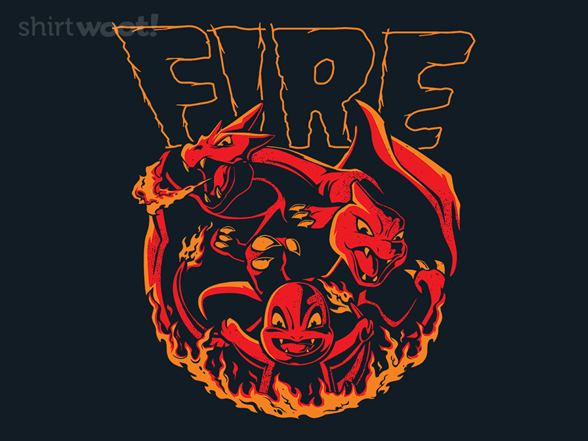 Fire Type T Shirt