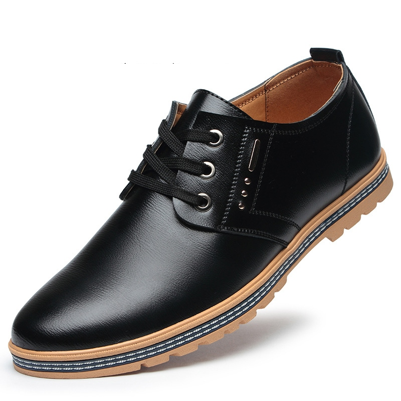 Ericdress Professional PU Lace-Up Low-Cut Men's Shoes