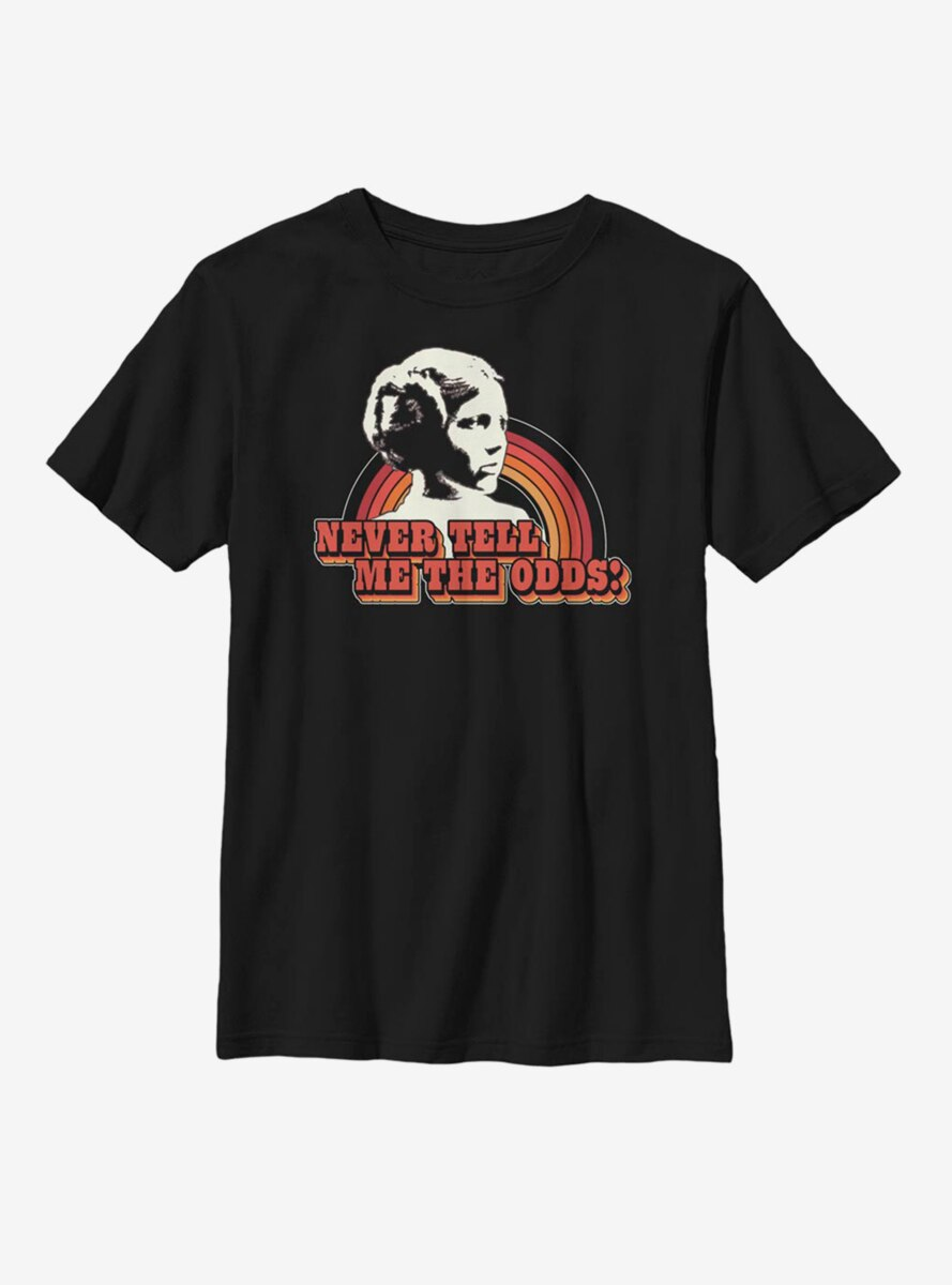 Star Wars Never Tell Me The Odds Youth T-Shirt