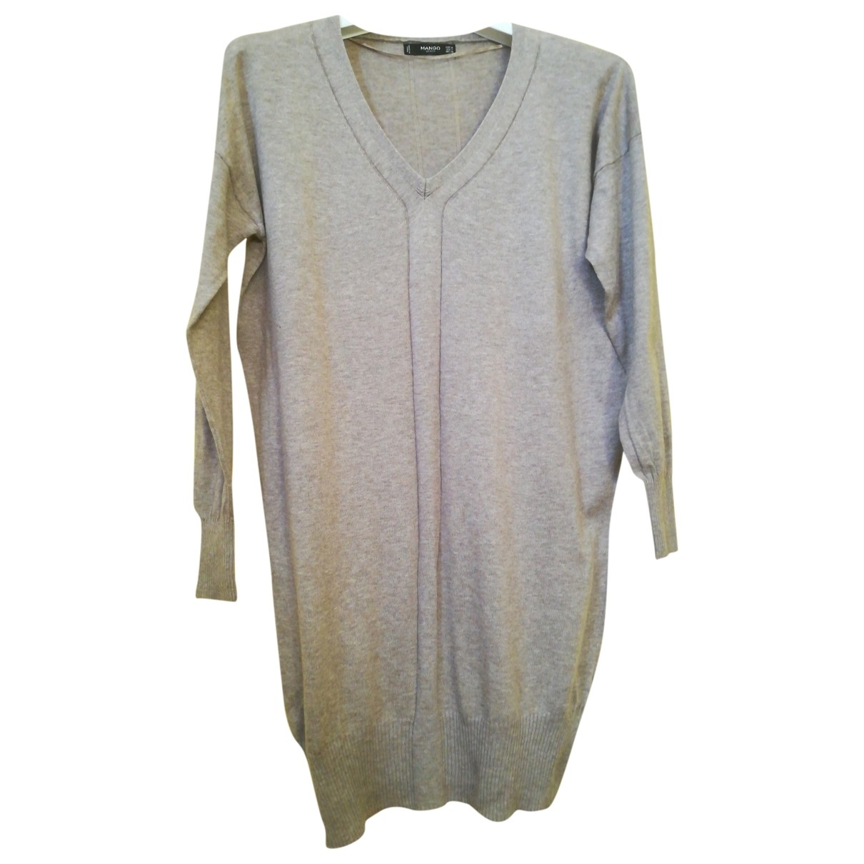 Mango \N Beige dress for Women M International