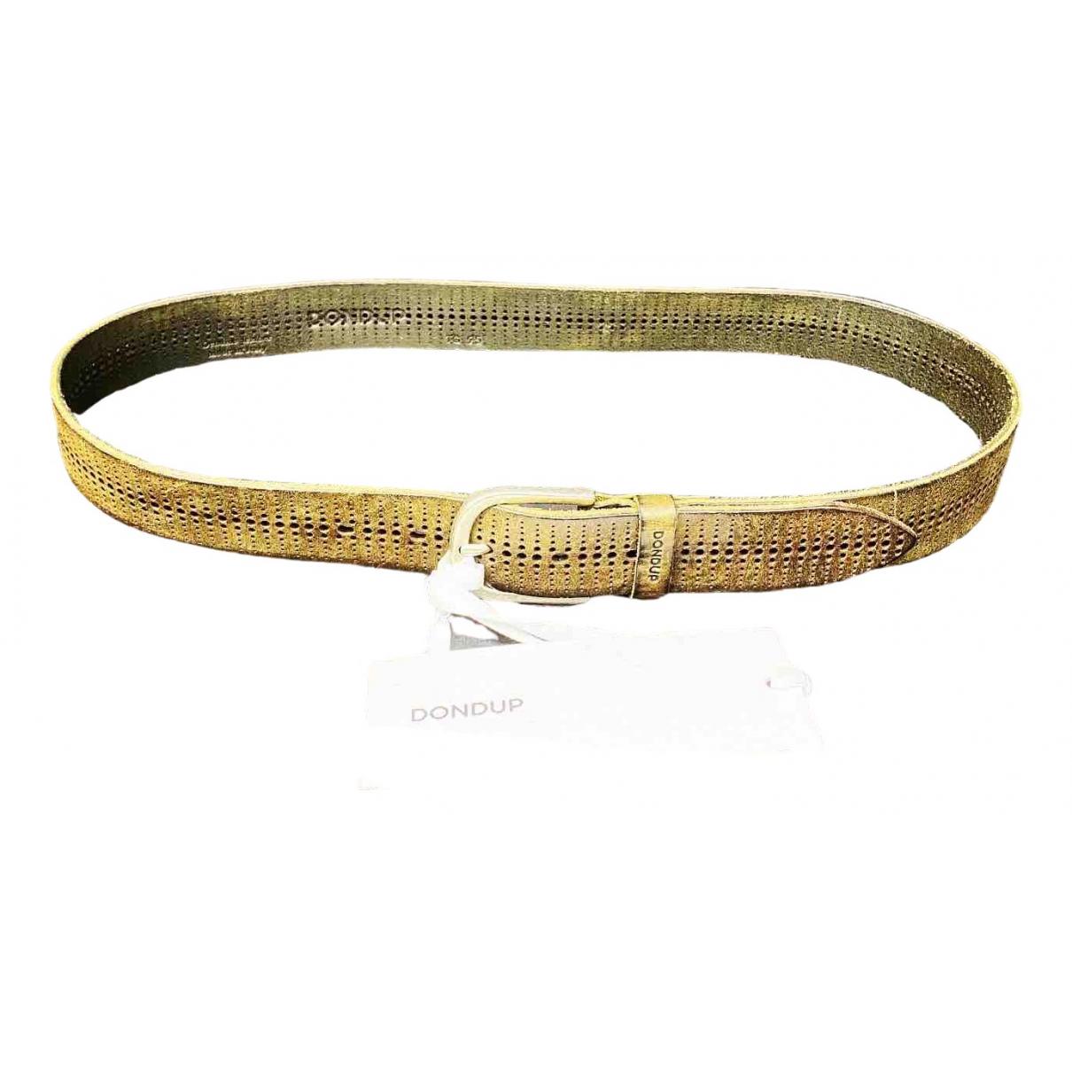 Dondup \N Leather belt for Men 95 cm