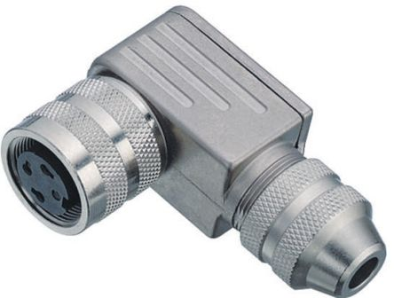 Binder Connector, 8 contacts Cable Mount Miniature Socket, Solder IP67