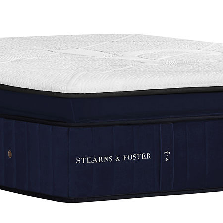 Stearns and Foster Hepburn Luxury Plush EPT - Mattress Only, One Size , White