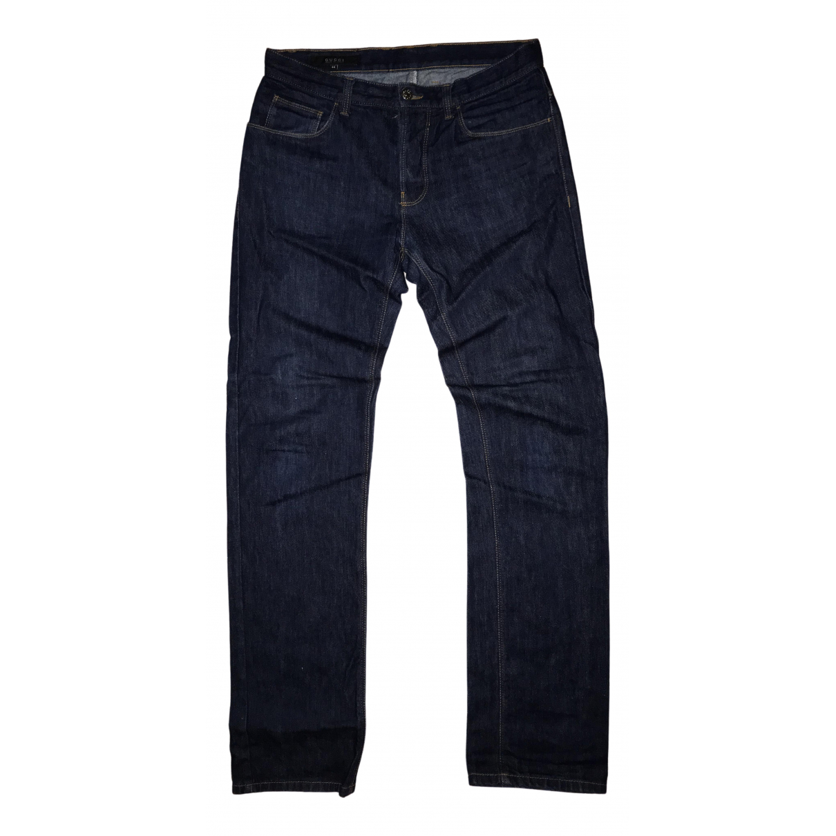 Gucci \N Blue Denim - Jeans Trousers for Men S International
