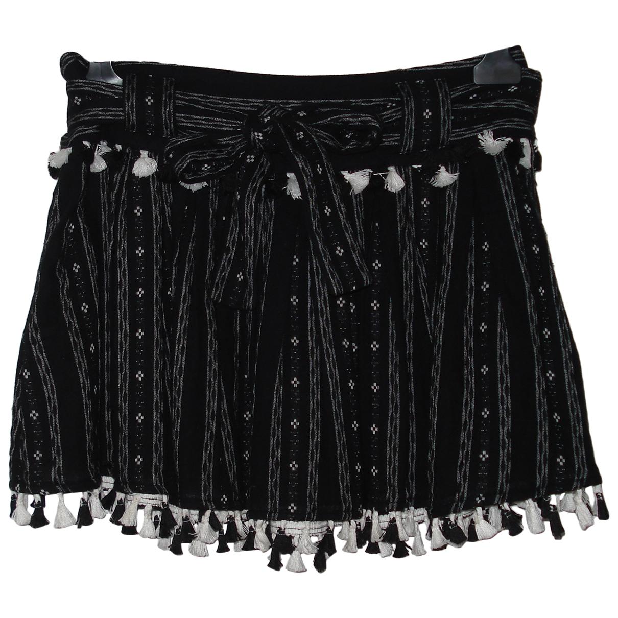 Dodo Bar Or \N Black Cotton skirt for Women S International