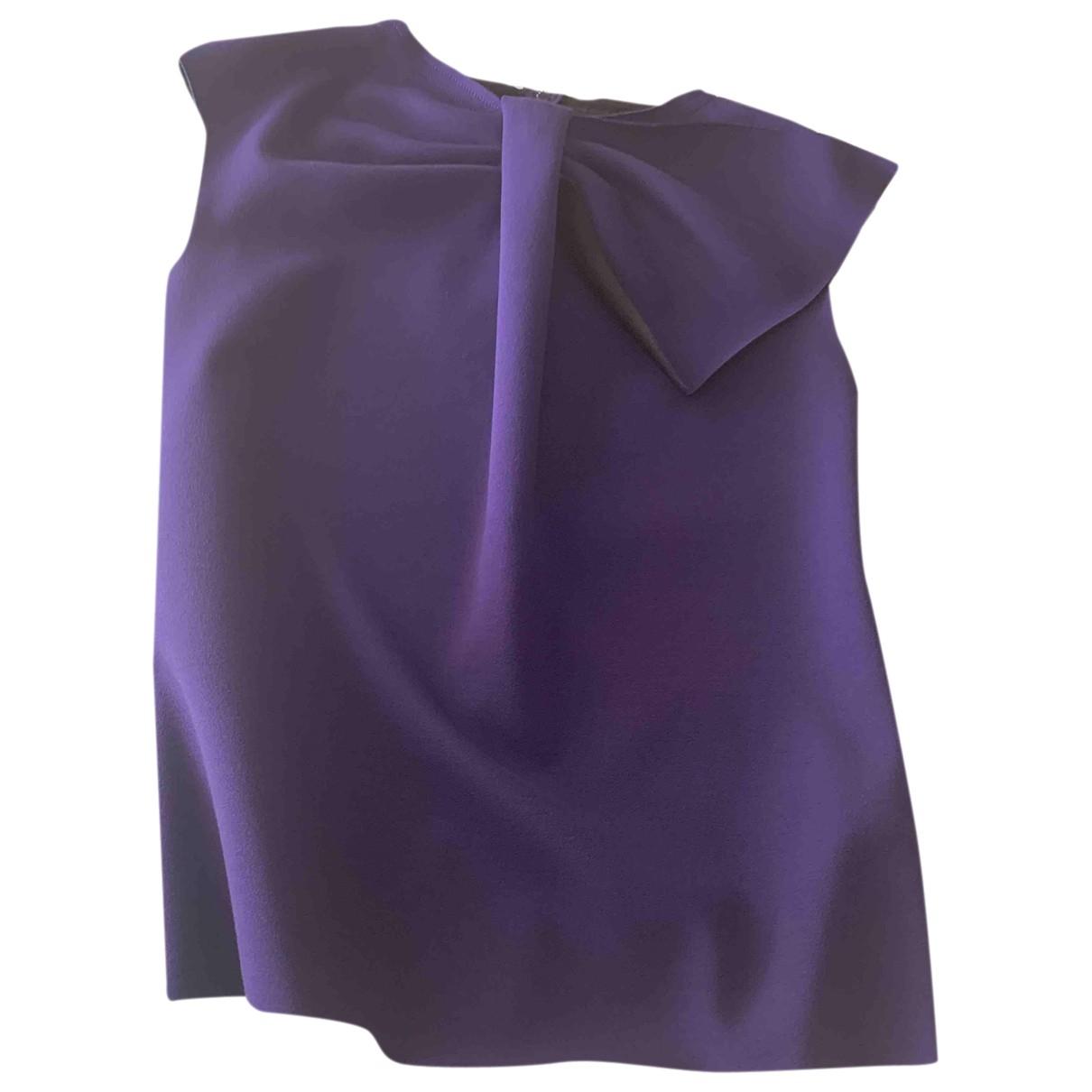 Emporio Armani \N Purple  top for Women 44 IT