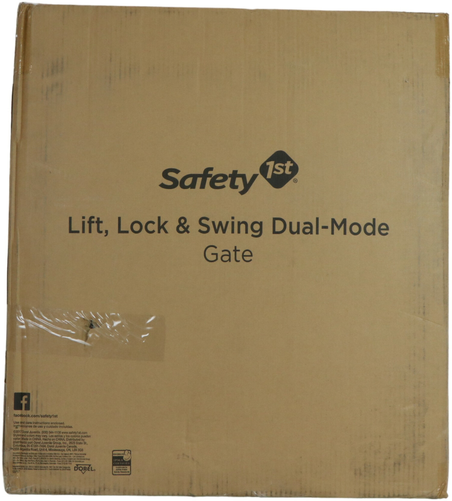 Safety 1St Lift Lock And Swing Dual Mode Gate GA048TAP1A