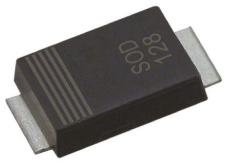 Nexperia PTVS9V0P1UTP,115, Uni-Directional TVS Diode, 600W, 2-Pin SOD-128 (25)