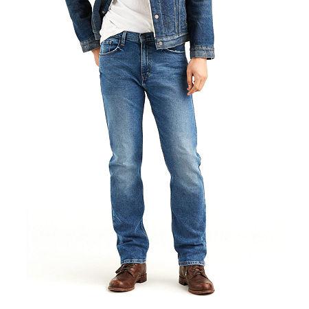 Levi's Men's 505 Regular Fit Jeans - Stretch, 34 34, Blue