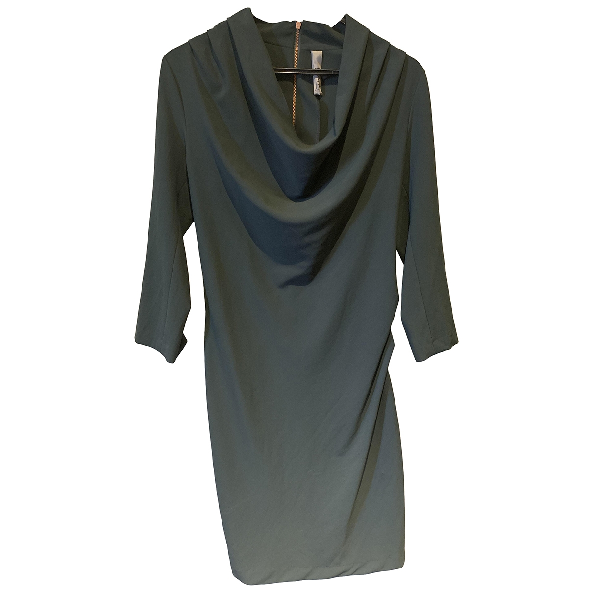 Non Signé / Unsigned \N Green dress for Women 3 0-5