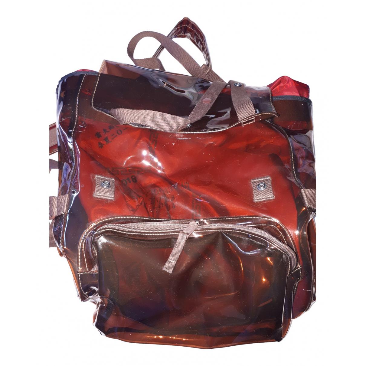 Raf Simons \N Burgundy backpack for Women \N