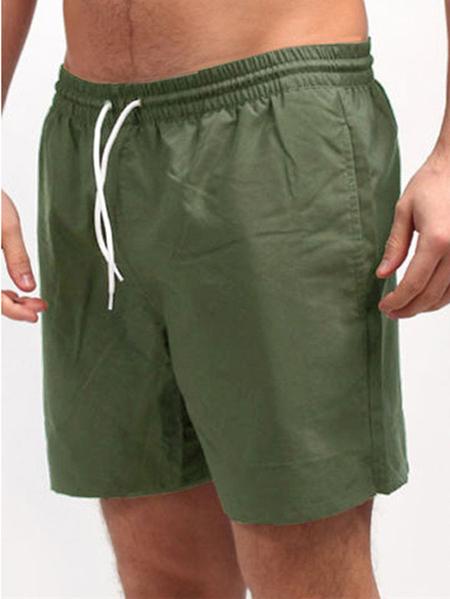 Yoins INCERUN Men Summer Drawstring Elastic Waist Leisure Home Shorts