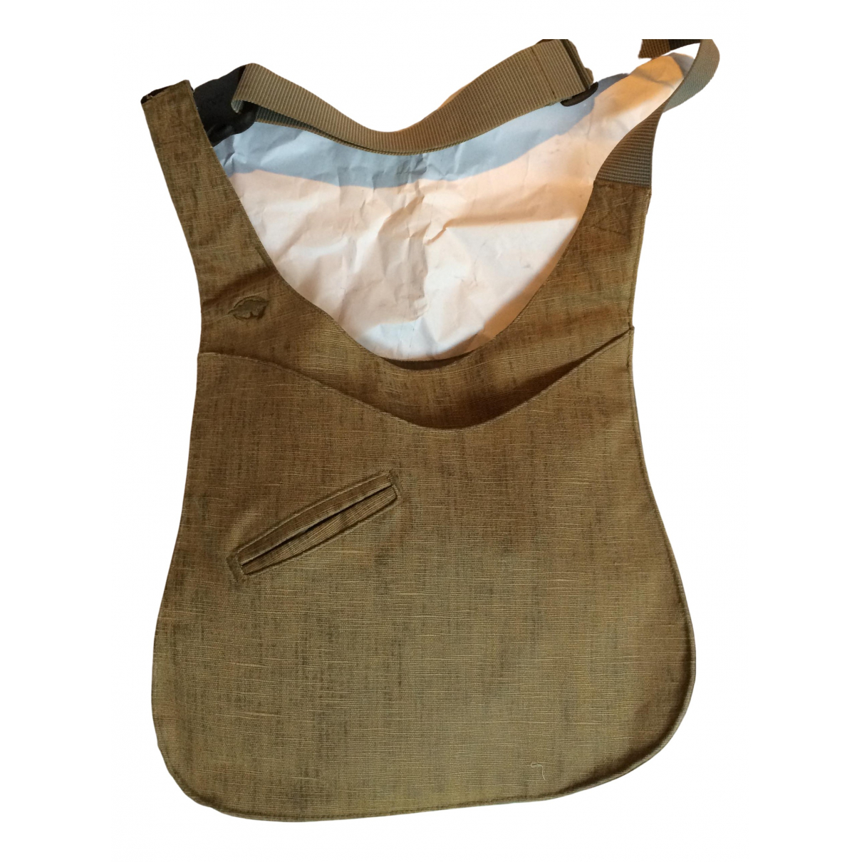 Non Signé / Unsigned \N Cloth bag for Men \N