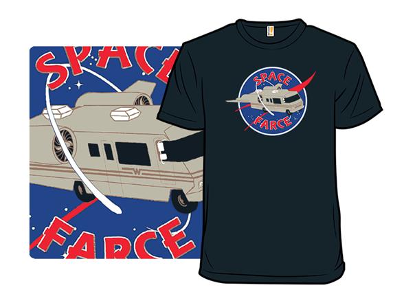Space Farce T Shirt