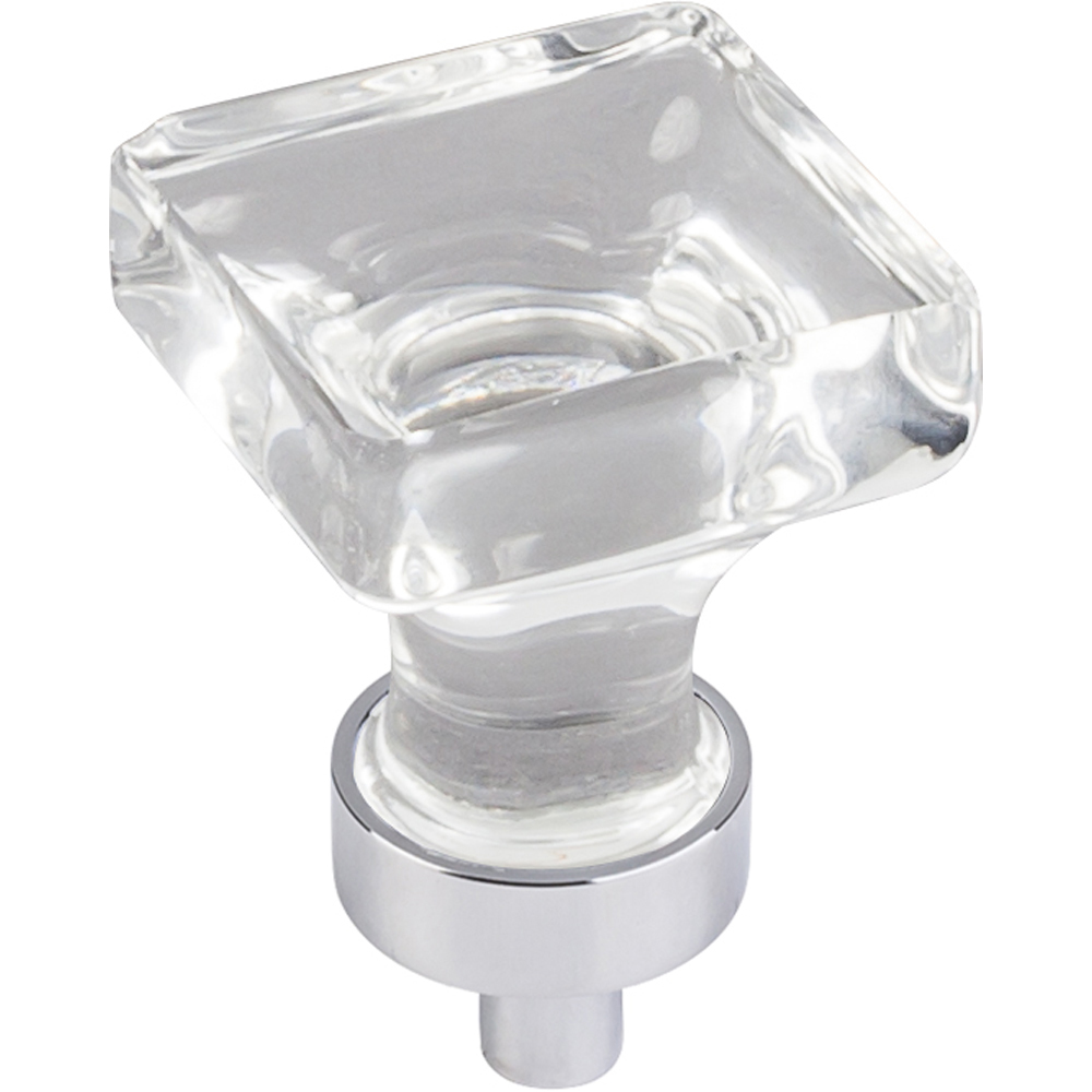 Harlow Small Square Glass Knob 1