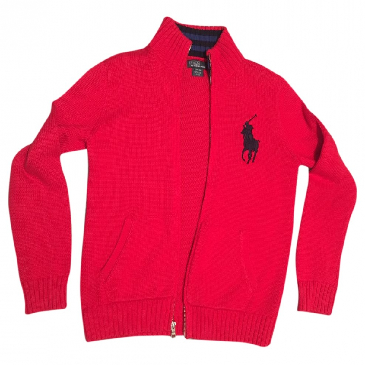 Polo Ralph Lauren \N Red Cotton Knitwear for Kids 16 years - M UK
