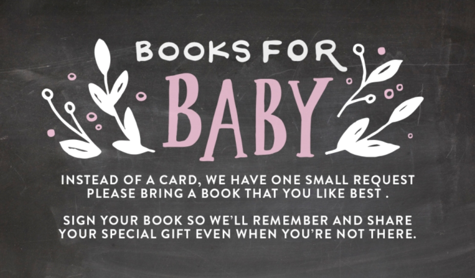 Baby Shower Invitations Business Cards, Set of 40, Card & Stationery -Baby Shower Organic Leaves Books by Tumbalina