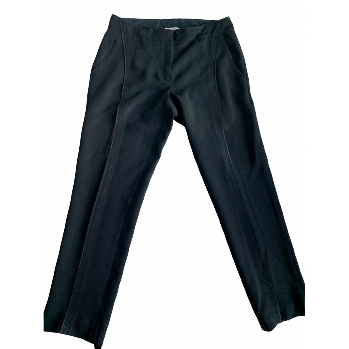 Moschino \N Black Trousers for Women 38 IT