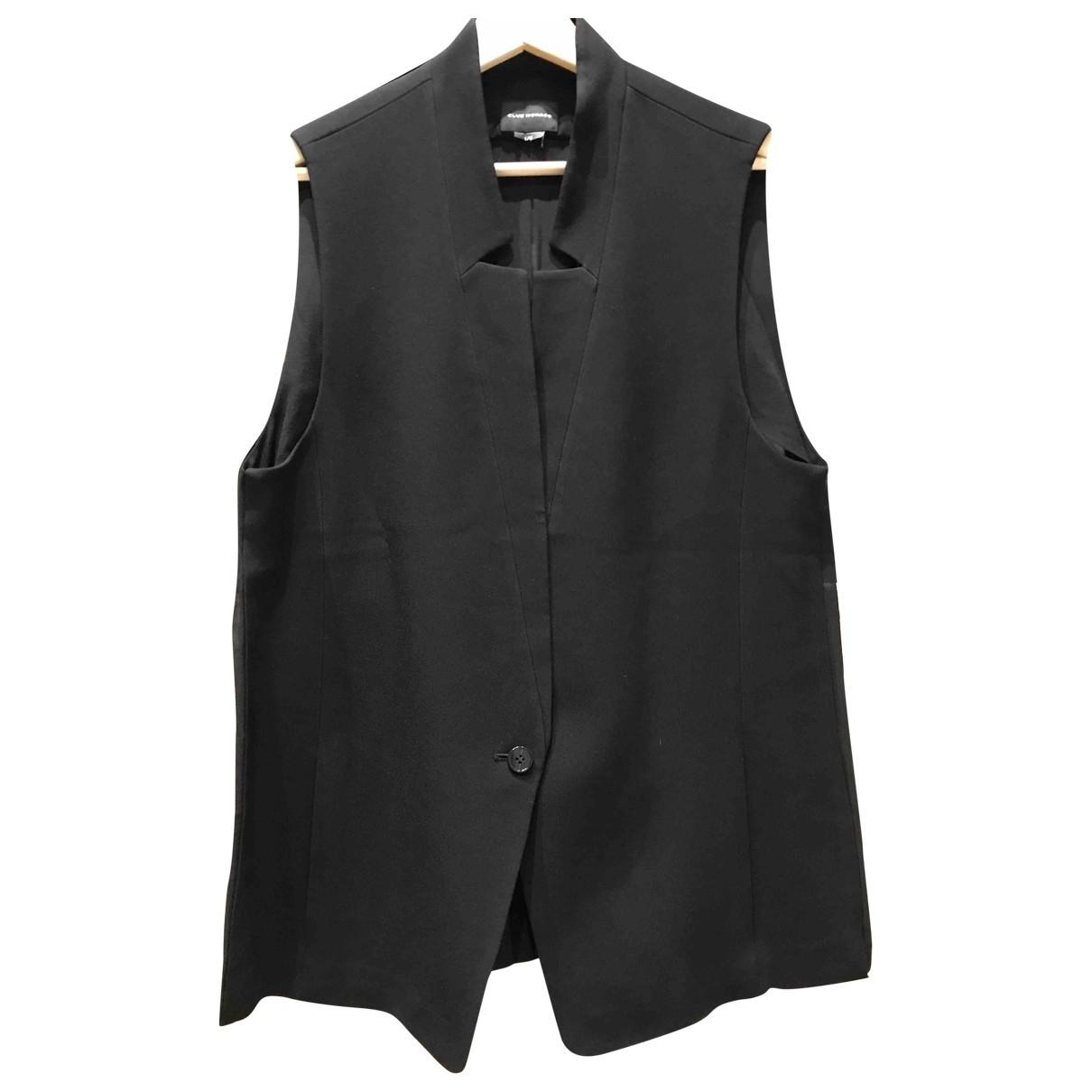 Club Monaco \N Black Silk jacket for Women L International