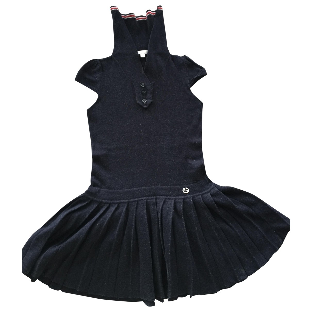 Gucci \N Blue Cotton dress for Kids 2 years - up to 86cm FR