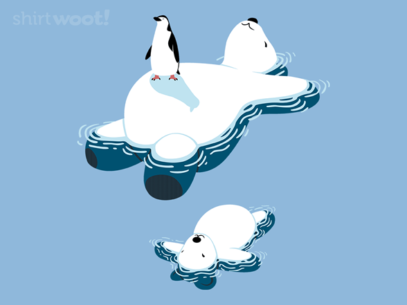 Unusual Iceberg T Shirt