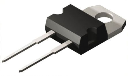 ROHM 650V 10A, SiC Schottky Diode, 2-Pin TO-220FM SCS210AMC (5)