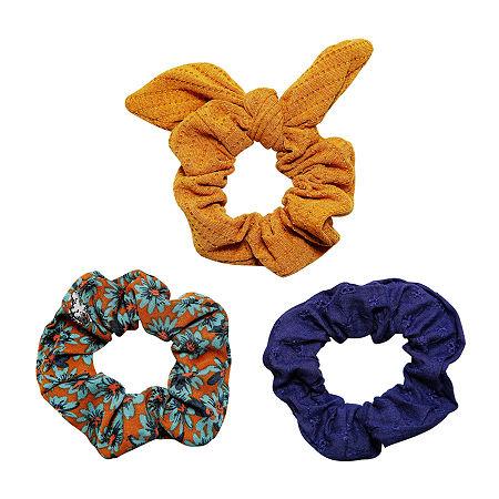 Arizona Scrunchie Hair Goods Sets, One Size , Green