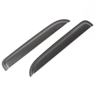 Rugged Ridge Rear Window Visors (Black) - 81349.83