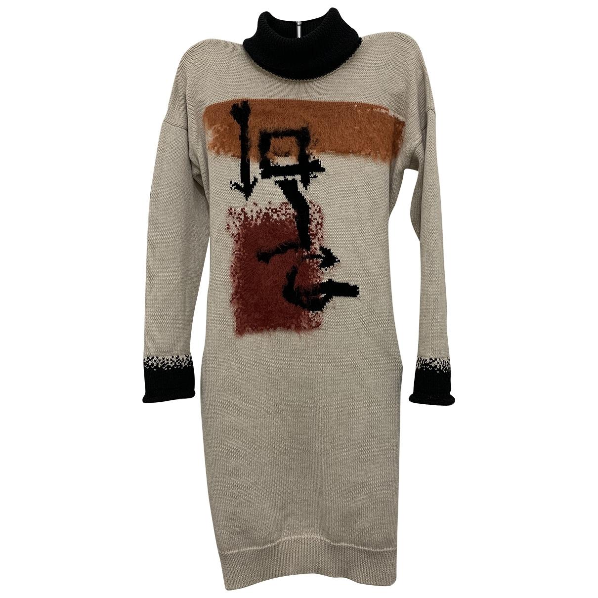 Jean Paul Gaultier \N Multicolour Wool dress for Women S International