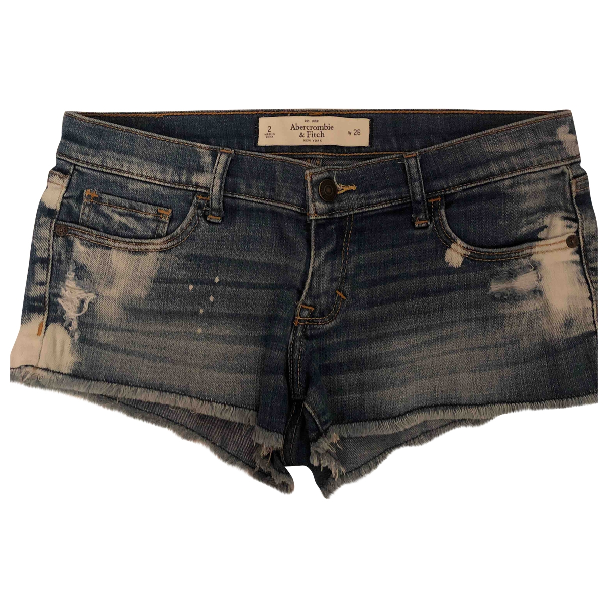 Abercrombie & Fitch \N Blue Denim - Jeans Shorts for Women 2 0-5