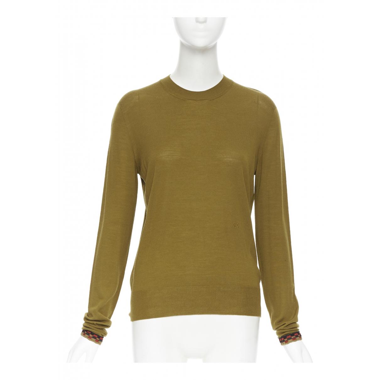 Celine \N Green Wool Knitwear for Women XS International