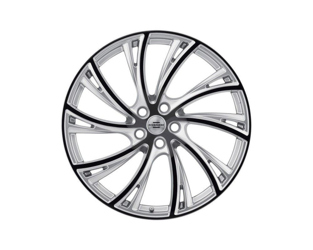 Redbourne 2210RDB375120S72R Noble Wheel 22x10 5x120 37mm Gloss Titanium w/ Gloss Black Face Right