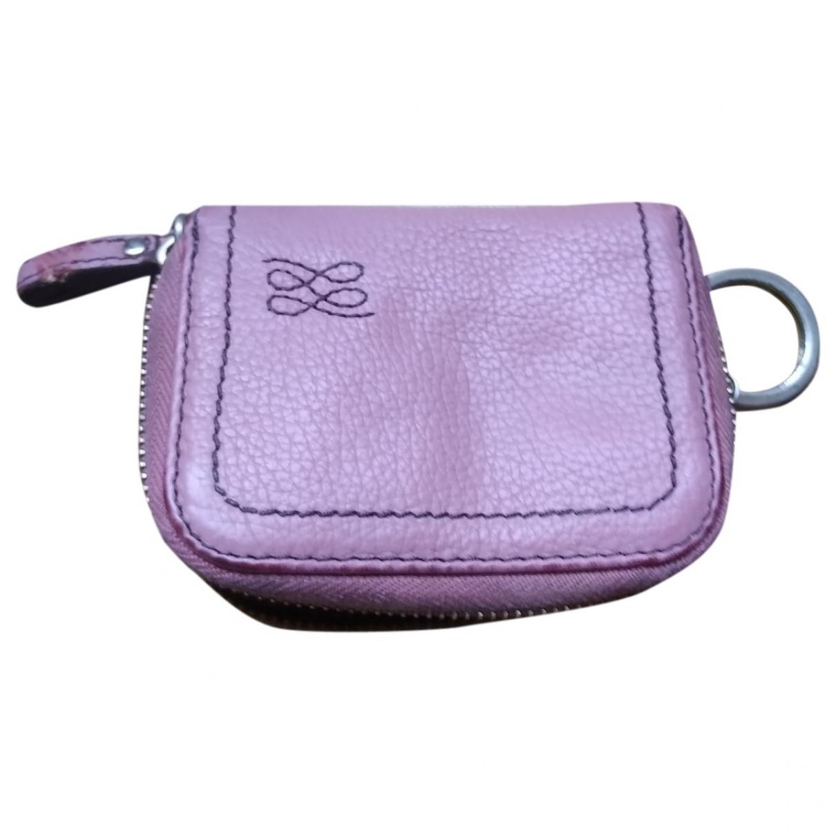 Lancel 1er Flirt Pink Leather Clutch bag for Women \N