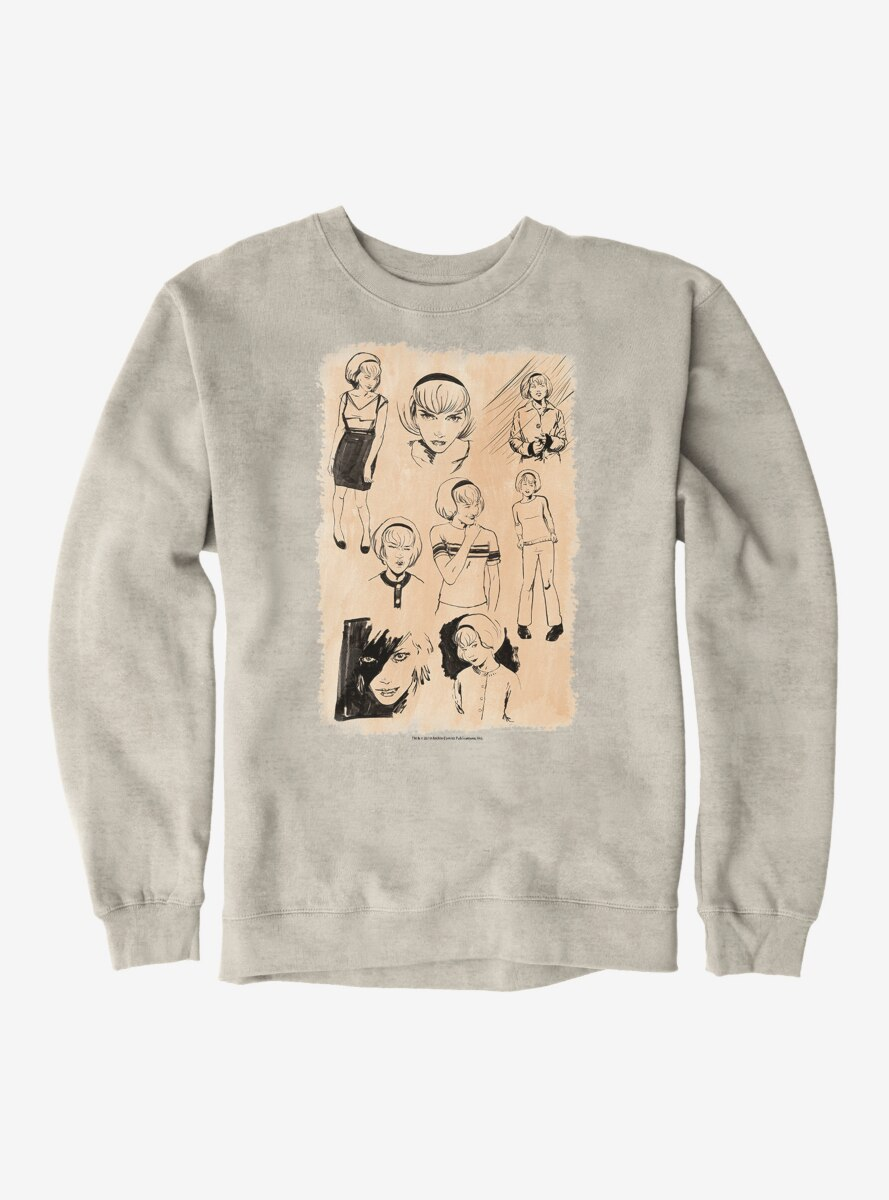 Archie Comics Chilling Adventures of Sabrina Sketches Sweatshirt