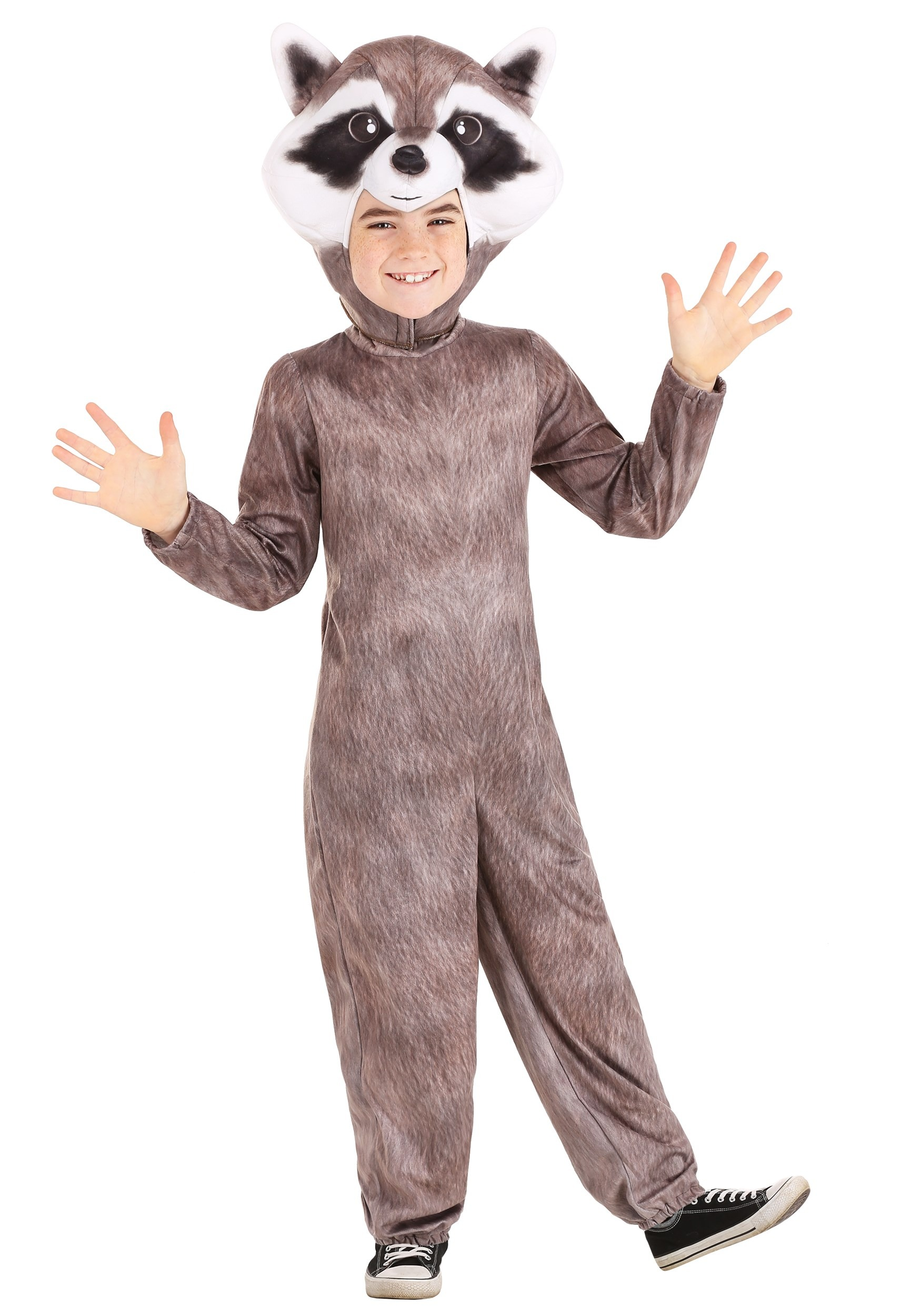 Realistic Raccoon Kid's Costume