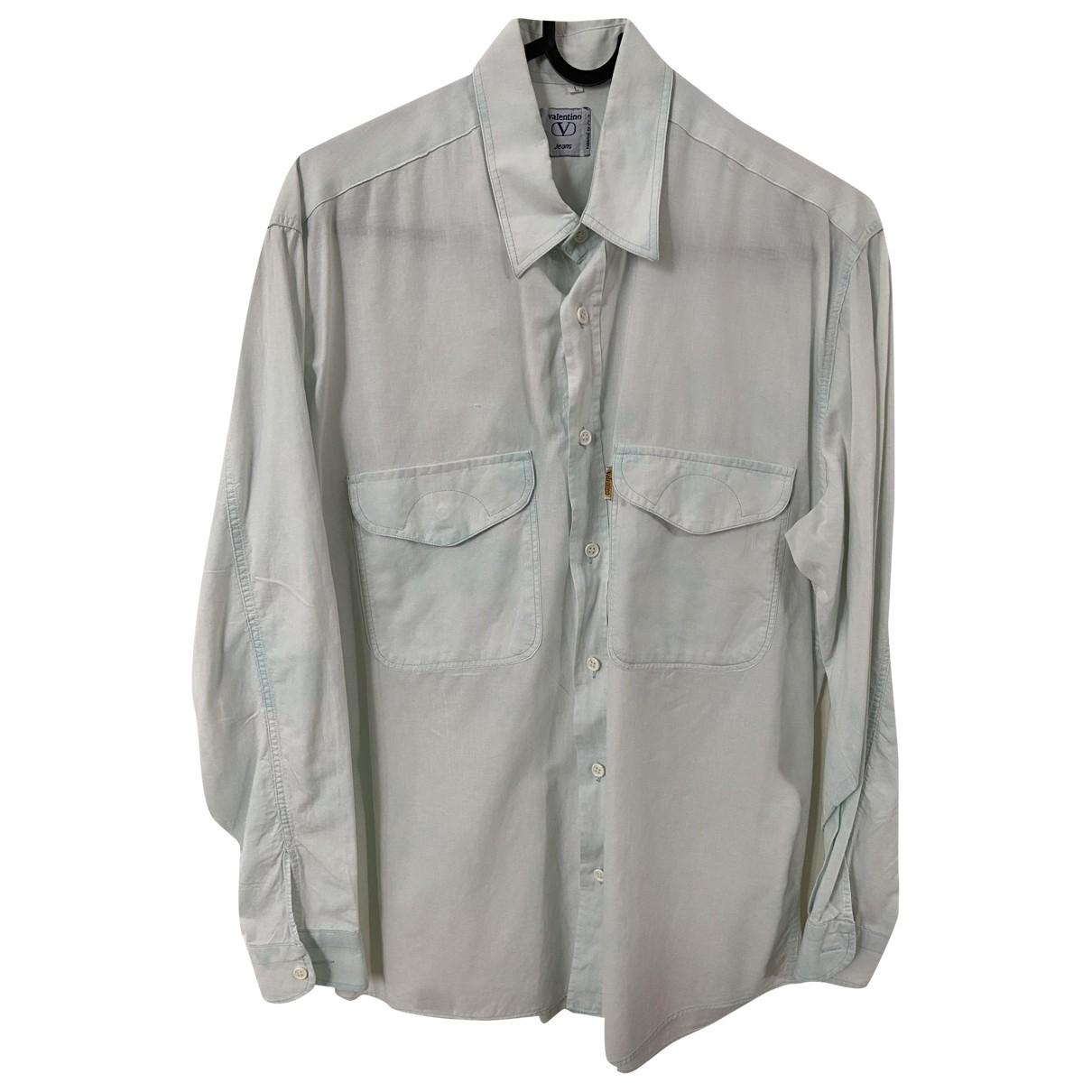Valentino Garavani \N Green Cotton Shirts for Men L International