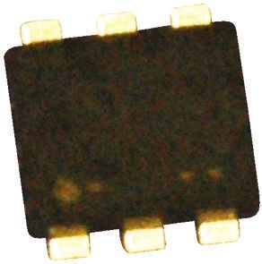Toshiba Dual P-Channel MOSFET, 330 mA, 20 V, 6-Pin UF  SSM6P36TU(TE85L,F) (10)