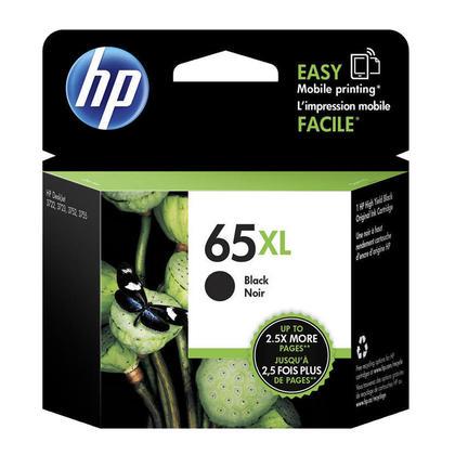 HP 65XL N9K04AN Original Black Ink Cartridge High Yield