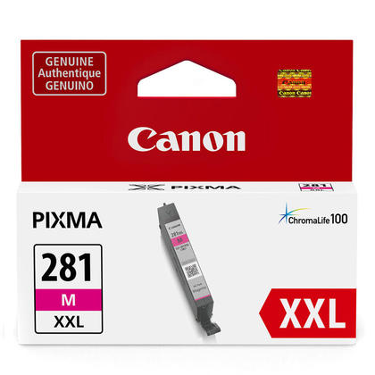 Canon CLI-281XXL Original Magenta Ink Cartridge Extra High Yield (1981C001)