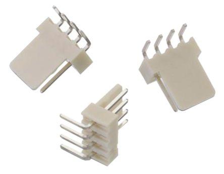 Wurth Elektronik , WR-WTB, 4 Way, 1 Row, Right Angle PCB Header (5)