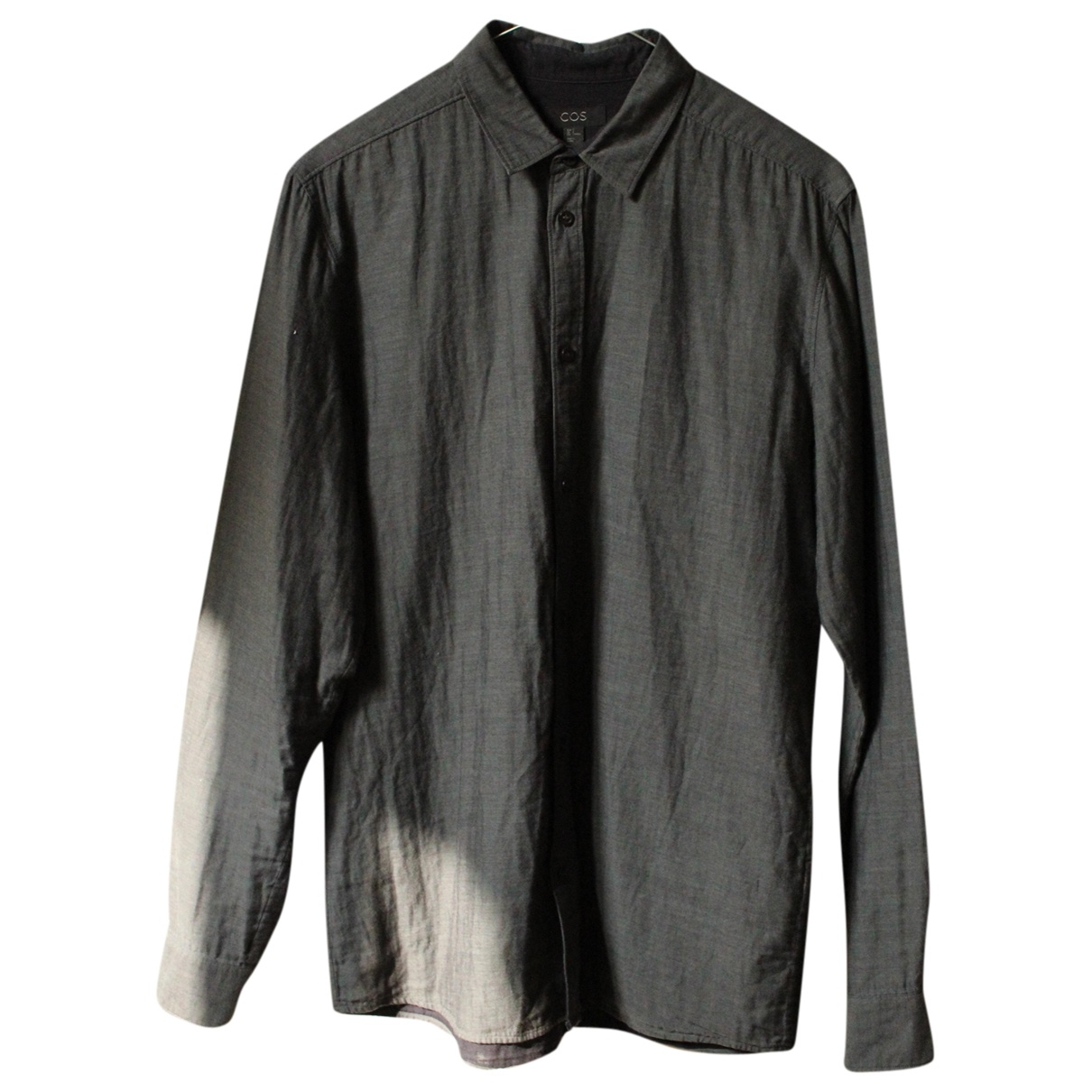 Cos \N Grey Cotton Shirts for Men S International