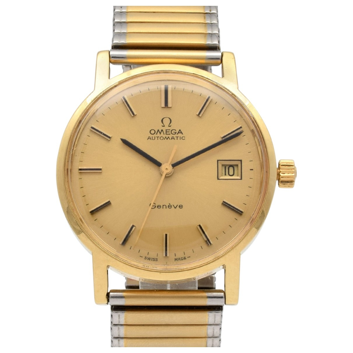 Omega \N Gold Yellow gold watch for Men \N