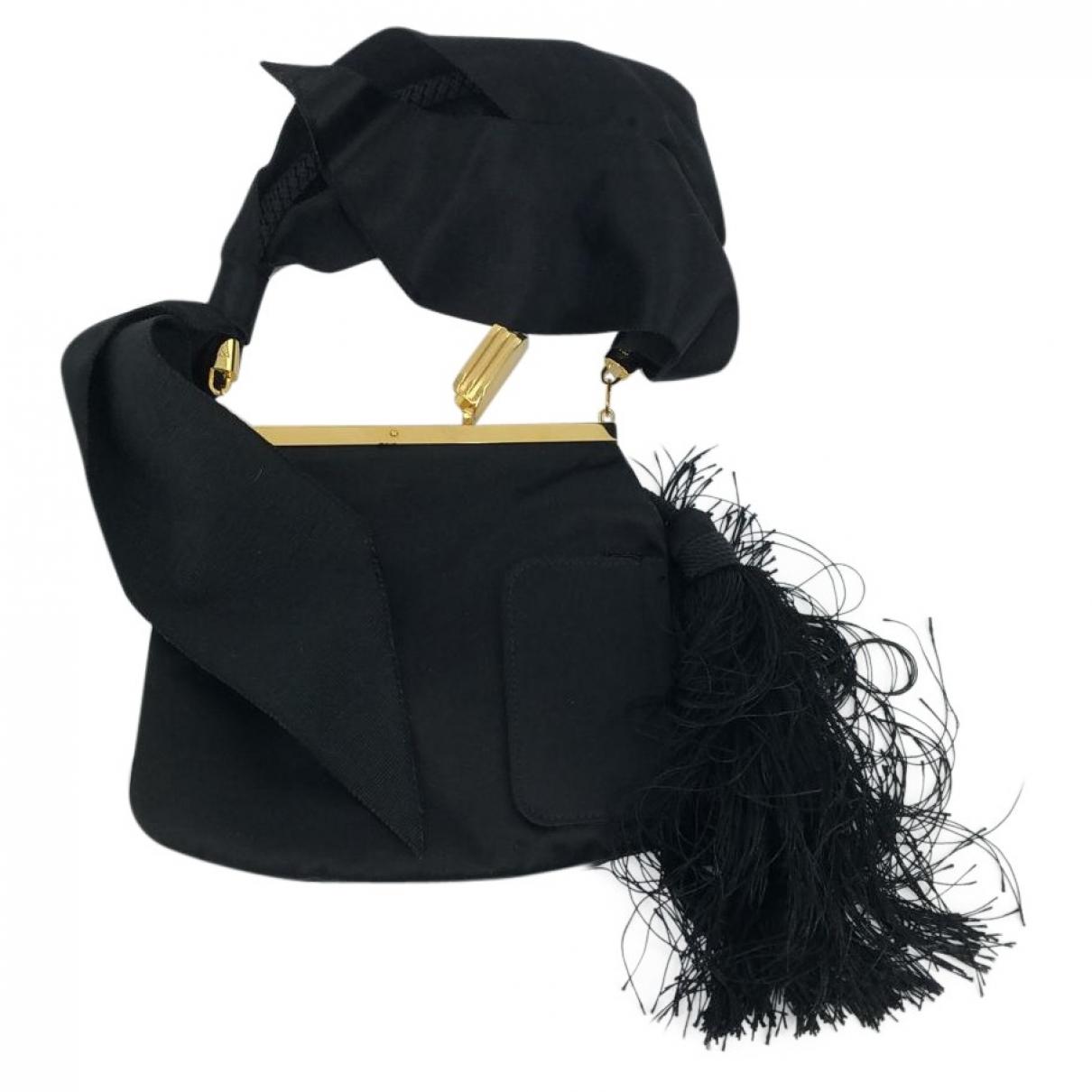 Bienen Davis \N Black Velvet handbag for Women \N