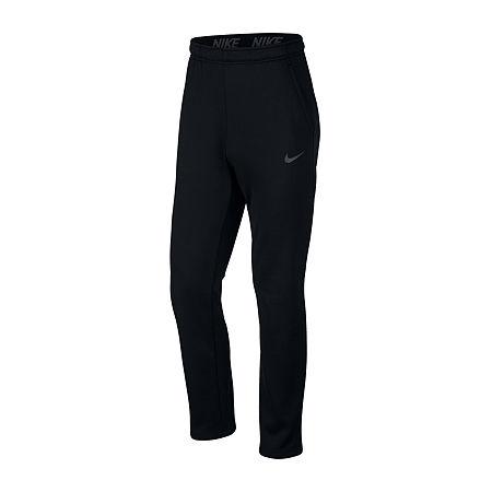 Nike Mens Therma Fleece Pant, Medium , Black